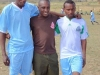 Some of the Jikaze IDP camp football kit beneficiaries