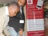 Registering Orange Kenya staff onto the Wanadamu database at their HQ